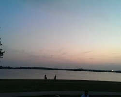 Playing on a Wedding @ Valkenburg at the Lake