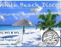 White Beach Disco Party